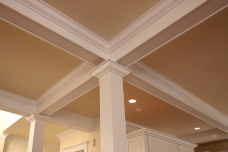 Crown Molding Doors And Accent Walls